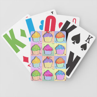 Pop Art CUPCAKES PLAYING CARDS Bicycle Playing Cards