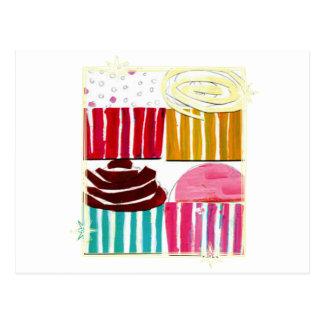 Pop Art Cupcakes Postcard