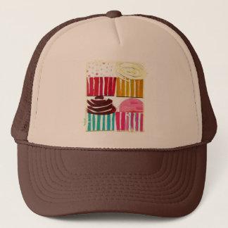 Pop Art Cupcakes Trucker Hat