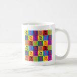Pop Art Cycling Coffee Mug