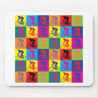 Pop Art Cycling Mouse Pad