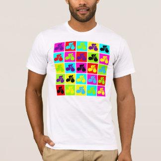 Pop Art Cyclist T-Shirt