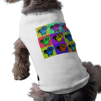 Pop Art Dachsund Doxie Panels Multi-Color Popart Shirt