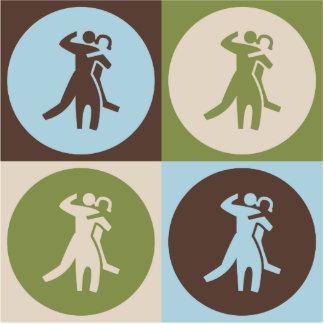 Pop Art Dance Acrylic Cut Out