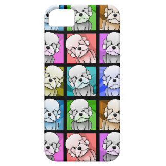 Pop Art Dandie Dinmont Terrier iPhone SE/5/5s Case