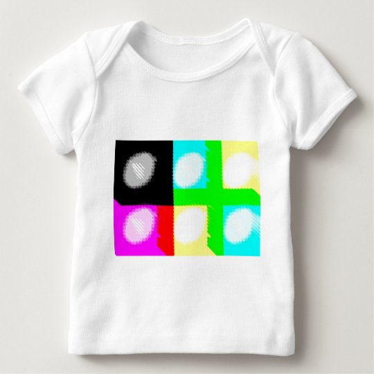 Pop Art Daub Baby T-Shirt