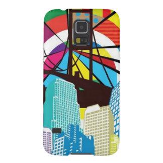 Pop art design cases for galaxy s5