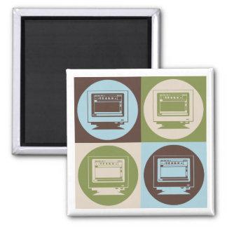 Pop Art Desktop Publishing Magnets