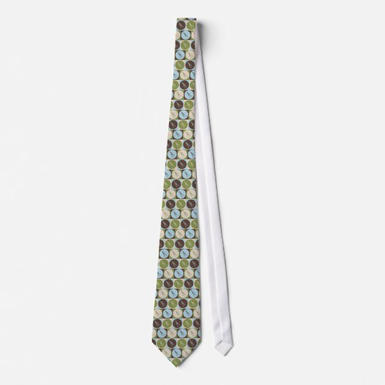 Pop Art Drafting Neck Tie