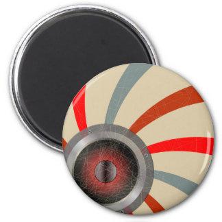 Pop Art Driver 2 Inch Round Magnet