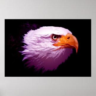 Pop Art Eagles - Bald Eagle Posters Prints