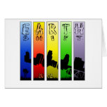 Pop Art EarthShift 2012 Greeting Card
