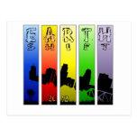 Pop Art EarthShift 2012 Post Card