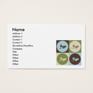 Pop Art Ecology Business Card