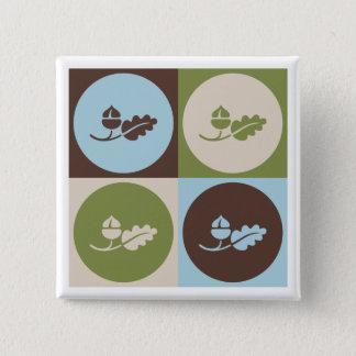 Pop Art Ecology Button