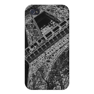 Pop Art Eiffel Tower Paris Case For iPhone 4