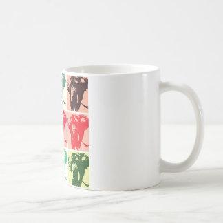 Pop Art Elephants Coffee Mug