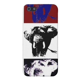 Pop Art Elephants Cover For iPhone SE/5/5s