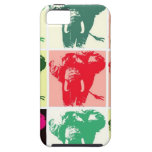 Pop Art Elephants iPhone 5 Cases