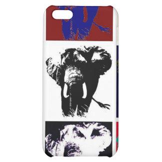 Pop Art Elephants Case For iPhone 5C