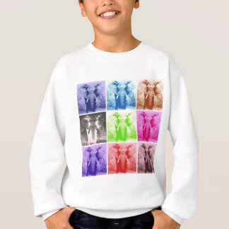 Pop Art Elephants Sweatshirt
