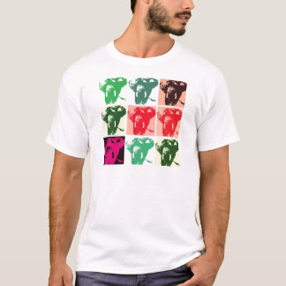 Pop Art Elephants T-Shirt