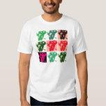 Pop Art Elephants Tee Shirt
