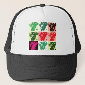 Pop Art Elephants Trucker Hat