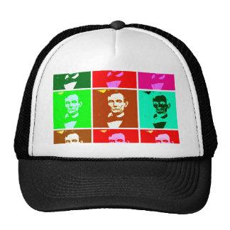 Pop Art .esque Abraham Lincoln Trucker Hat
