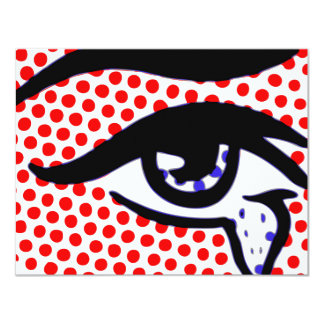 Pop Art Eye Card