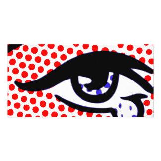 Pop Art Eye Card