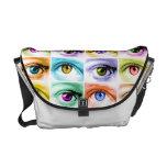 Pop Art EYE MESSENGER BAG