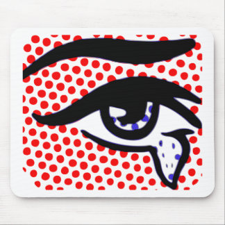 Pop Art Eye Mouse Pad