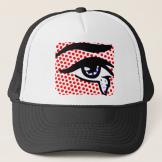 Pop Art Eye Trucker Hat