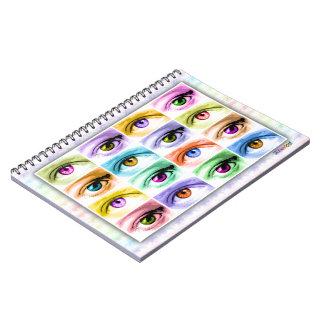 Pop Art Eyes Notebook