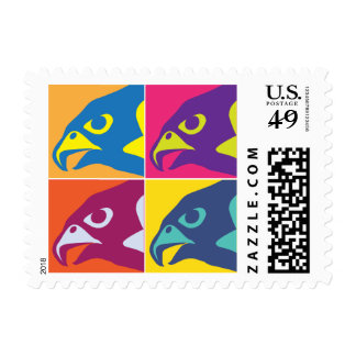 Pop Art Falcon Postage
