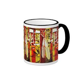 Pop Art Fall Corn Coffee Mug