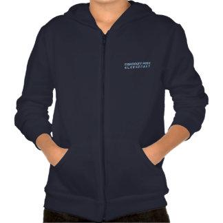 Pop Art Fleece Zip Front Hoodie