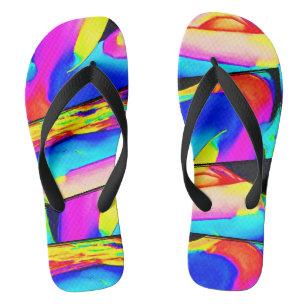 085a2eb2b9d078 Pop Art Sandals   Flip Flops