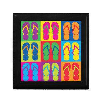 Pop Art Flip Flops Gift Boxes