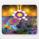 Pop Art Flower Mousepad