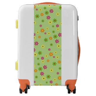 Pop Art Flowers seamless pattern + your ideas Luggage