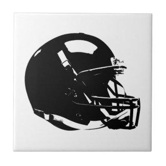 Pop Art Football Helmet Ceramic Tile