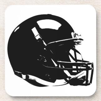 Pop Art Football Helmet Hard plastic coaster