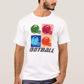 Pop Art Football Helmet T-Shirt - American Sports