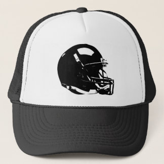 Pop Art Football Helmet Trucker Hat