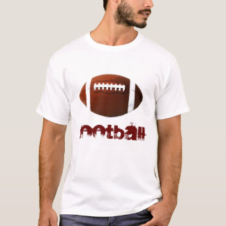 Pop Art Football White T-Shirt - American Sports