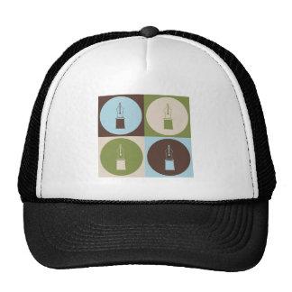 Pop Art Fountain Pens Mesh Hat