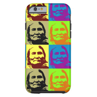 Pop Art Freedom Fighter Geronimo Tough iPhone 6 Case