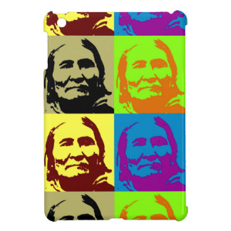 Pop Art Freedom Fighter Geronimo Case For The iPad Mini